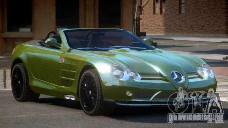 Mercedes-Benz SLR RTF PJ4 для GTA 4