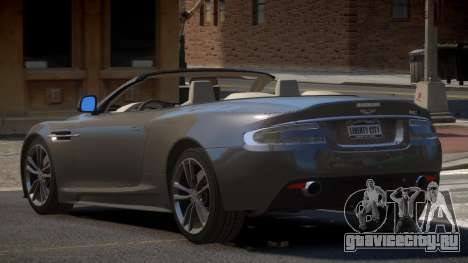 Aston Martin DBS Volante PJ1 для GTA 4