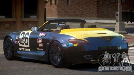 Mercedes-Benz SLS H-Style PJ1 для GTA 4