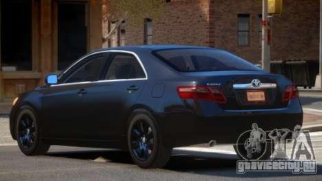 Toyota Camry XV40 для GTA 4