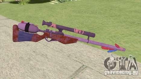 Stylized Dart Sniper для GTA San Andreas