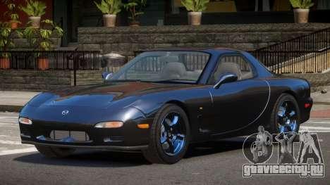 Mazda RX-7 RIL для GTA 4