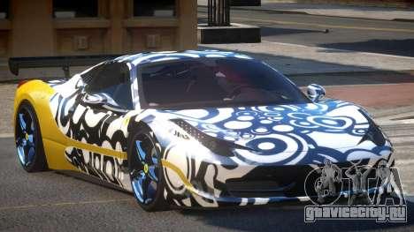 Ferrari 458 SRI-37 PJ4 для GTA 4