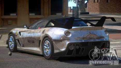Ferrari 599XX R-Tuning PJ4 для GTA 4