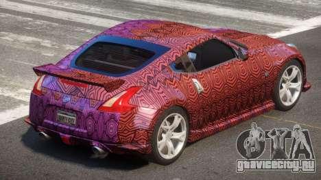 Nissan 370Z SR PJ5 для GTA 4
