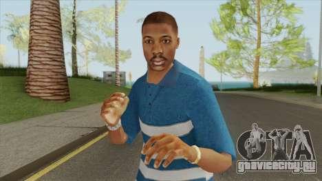 Crips Gang Member V2 для GTA San Andreas