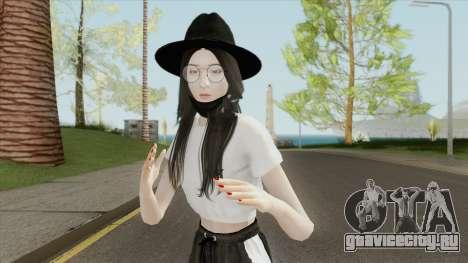 Kim Jisoo (BLACKPINK) для GTA San Andreas