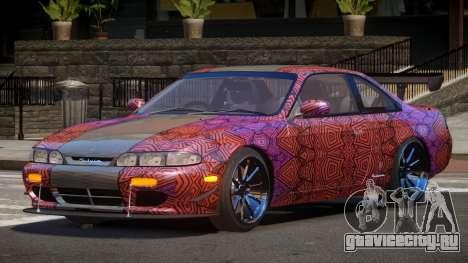 Nissan Silvia S14 R-Tuning PJ1 для GTA 4