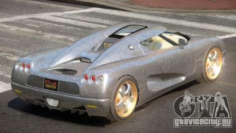 Koenigsegg CCRT Sport PJ2 для GTA 4