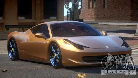 Ferrari 458 SRI-37 для GTA 4