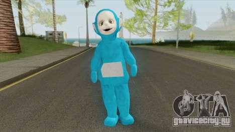 Blue Worker (Slendytubbies 3) для GTA San Andreas