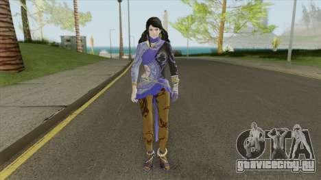 Zafina (Tekken 7) для GTA San Andreas