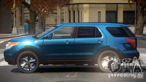 Ford Explorer RGT для GTA 4
