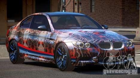 BMW M3 E92 LR PJ2 для GTA 4