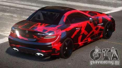 Mercedes Benz SLK Qz PJ1 для GTA 4