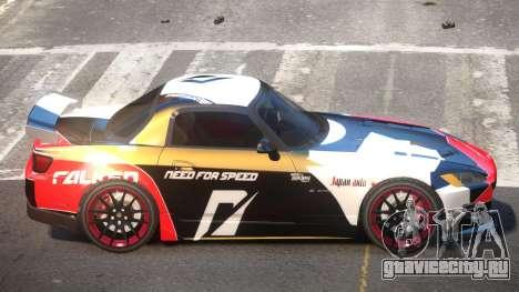 Honda S2000 GEN PJ3 для GTA 4