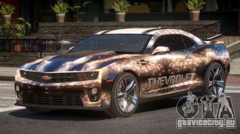 Chevrolet Camaro STI PJ2 для GTA 4