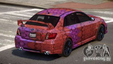 Subaru Impreza S-Tuned PJ3 для GTA 4