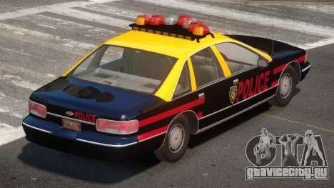 1995 Chevrolet Caprice Police для GTA 4