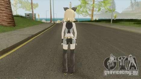 Kagamine Rin (Black Star Module) для GTA San Andreas
