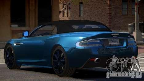 Aston Martin DBS RT для GTA 4