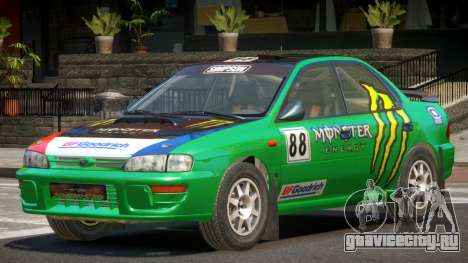 Subaru Impreza R-Tuned для GTA 4