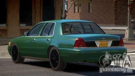 Ford Crown Victoria CL для GTA 4