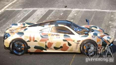 Pagani Huayra R-Tuned PJ2 для GTA 4