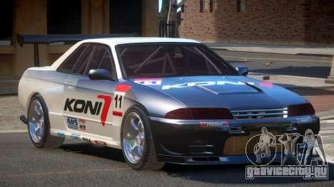 Nissan Skyline R32 D-Style PJ3 для GTA 4