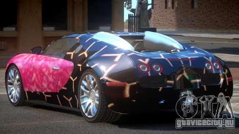 Bugatti Veyron 16.4 RT PJ3 для GTA 4