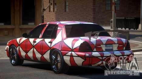 Ford Crown Victoria R-Tuned PJ2 для GTA 4