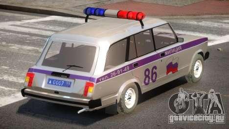 VAZ 2104 Police для GTA 4