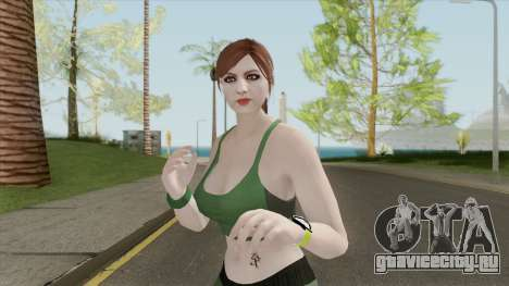 Random Female Skin V3 (Sport Gym) для GTA San Andreas