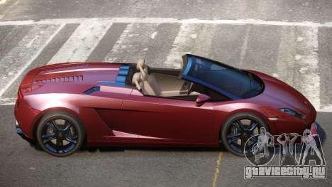 Lamborghini Gallardo LP560 RS для GTA 4