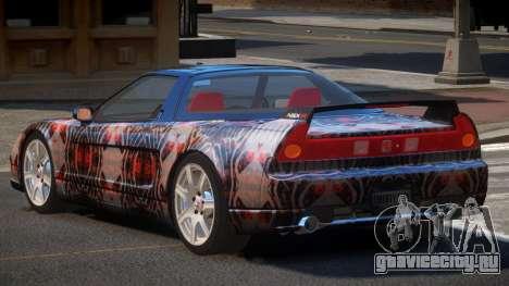 Honda NSX-R LT PJ2 для GTA 4