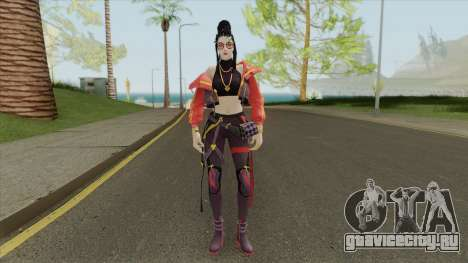 Trap Girl Moco (Free Fire) для GTA San Andreas