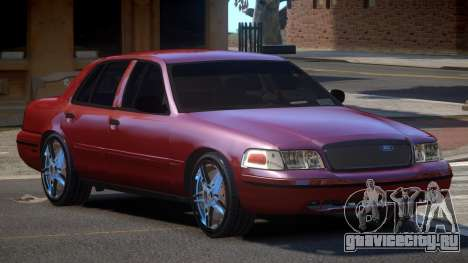 Ford Crown Victoria R-Tuned для GTA 4
