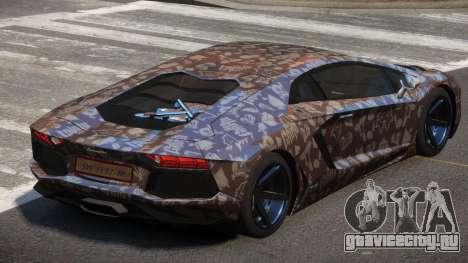 Lamborghini Aventador S-Style PJ3 для GTA 4