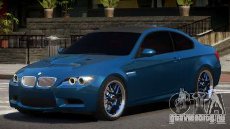 BMW M3 E92 RGB86 для GTA 4