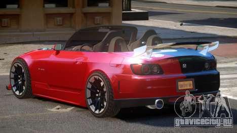 Honda S2000 D-Style PJ3 для GTA 4