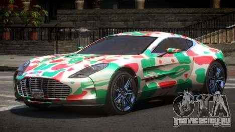 Aston Martin One-77 LS PJ5 для GTA 4