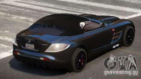 Mercedes-Benz SLR RTF для GTA 4