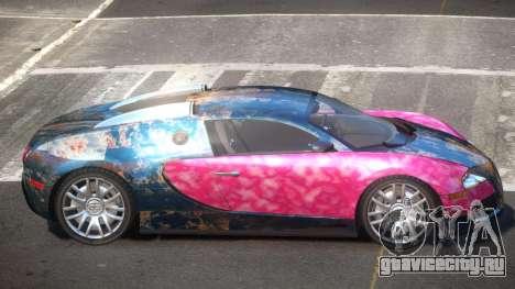 Bugatti Veyron 16.4 RT PJ4 для GTA 4