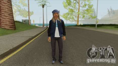 Crips Gang Member V5 для GTA San Andreas