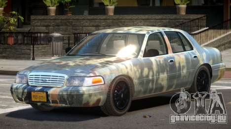 Ford Crown Victoria CL PJ4 для GTA 4