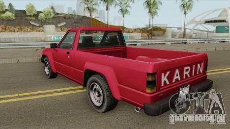 Karin Rebel Sport GTA IV для GTA San Andreas