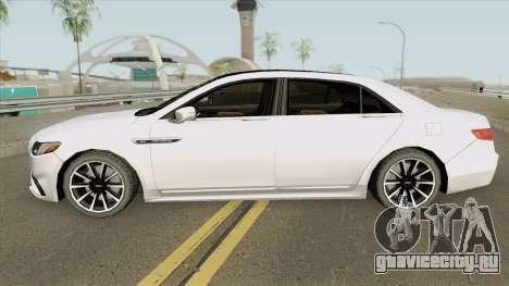 Lincoln Continental (Black Label) 2019 для GTA San Andreas