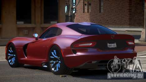 Dodge Viper SRT D-Tuned для GTA 4