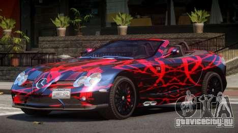 Mercedes-Benz SLR RTF PJ1 для GTA 4