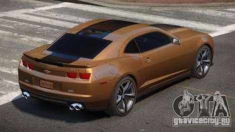 Chevrolet Camaro ZL1 V2.2 для GTA 4